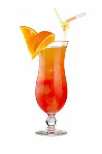 Peach Melba Mocktail
