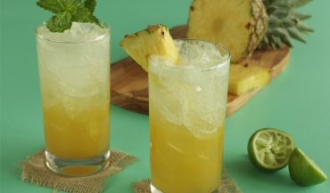 Pineapple Mint Soda