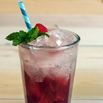 Wildberry Blast Mocktail