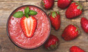 Frozen Strawberry Mocktail