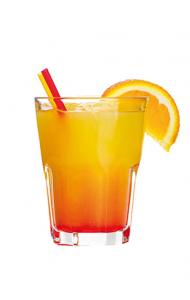 Island Sunset Mocktail