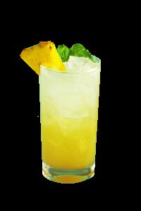 Pineapple Mint Soda